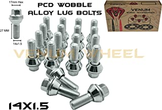 alloy wheel wobble bolts