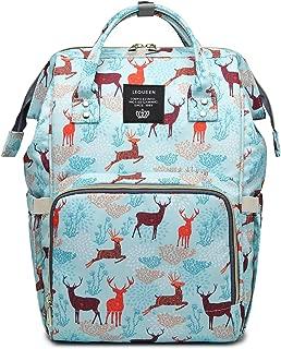 Waterproof Diaper Bag Backpack Multi-Function Large Capacity Travel Backpack Nappy Bags