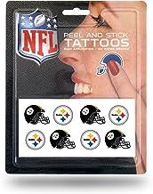 NFL Face Tattoos, 8-Piece Set