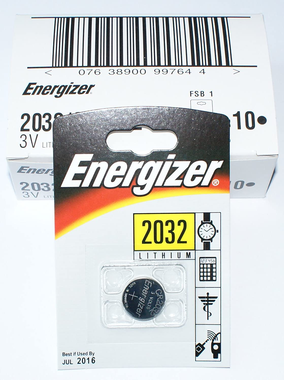 Pack of SEAL limited product 100 Energizer 3v Batteries ECR2032 Lithium Finally popular brand