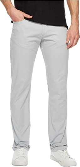Slim Fit Four-Pocket Stretch Sateen Pants