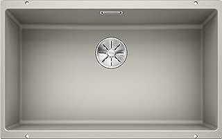Blanco 铂浪高 厨用水槽 台下盆 大单槽 700-U 珍珠灰色