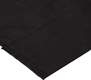 Cotton Broadcloth Black, Quilting Fabric by the Yard