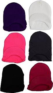 ToBeInStyle Unisex Pack of 6 Acrylic Visor Hats