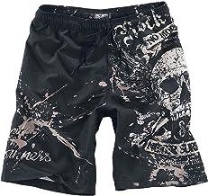 Rock Rebel by EMP Swimming Time Zwembroek zwart Rock wear