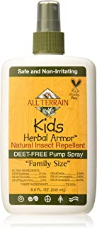 Kids Herbal Armor Natural Insect Repellent Spray Family Size 8 Ounces