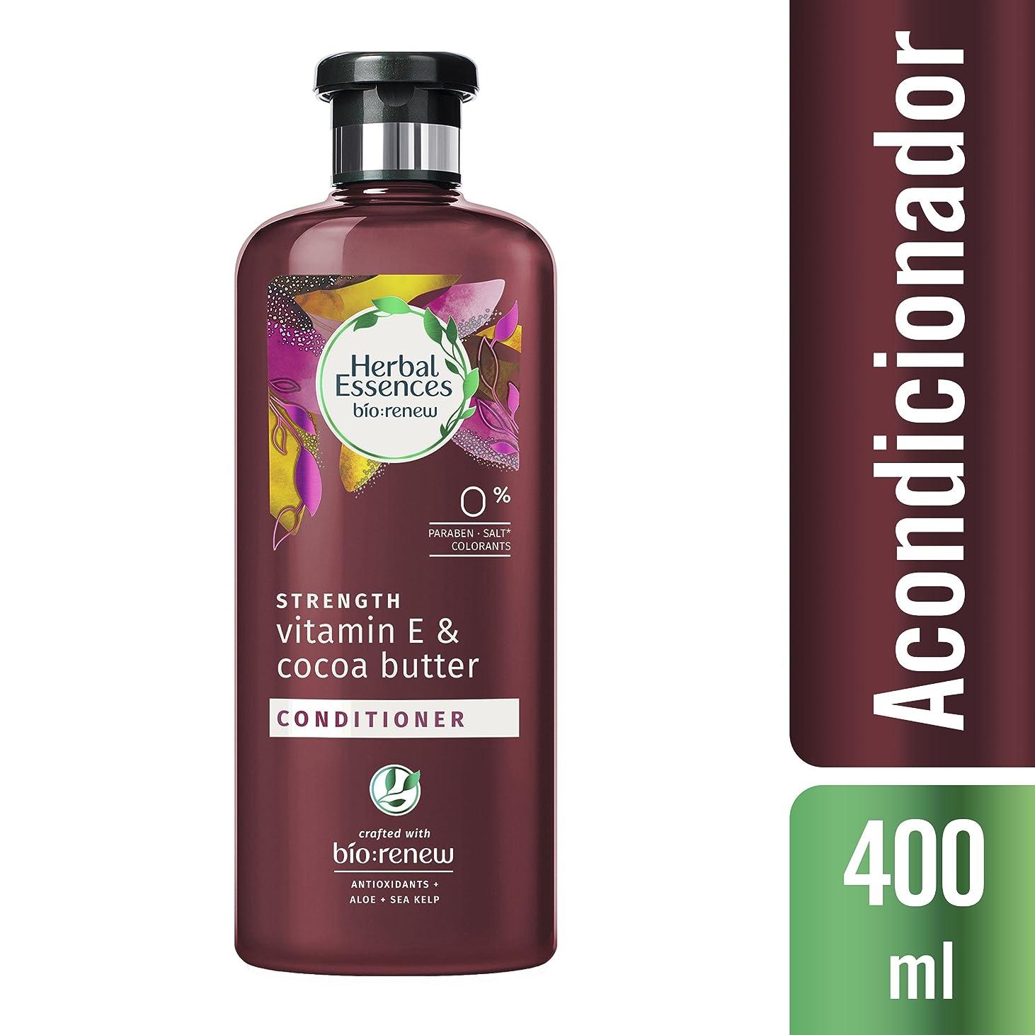 カップ単語クレーターハーバルエッセンス ビオリニュー 髪を補強して美髪へ ビタミンE&ココアバター コンディショナー