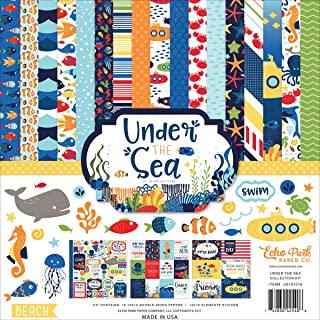 Echo Park Paper Company Sea Collection Kit