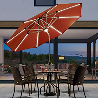 Best proshade 11' led solar aluminum market umbrella Reviews