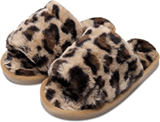 احذية جلدية مسطحة للبنات لرقص الباليه وممارسة اليوجا من فيت سيتي (طفل صغير/طفل كبير/نساء)
