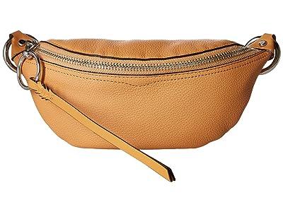 Rebecca Minkoff Bree Mini Belt Bag (Honey) Day Pack Bags