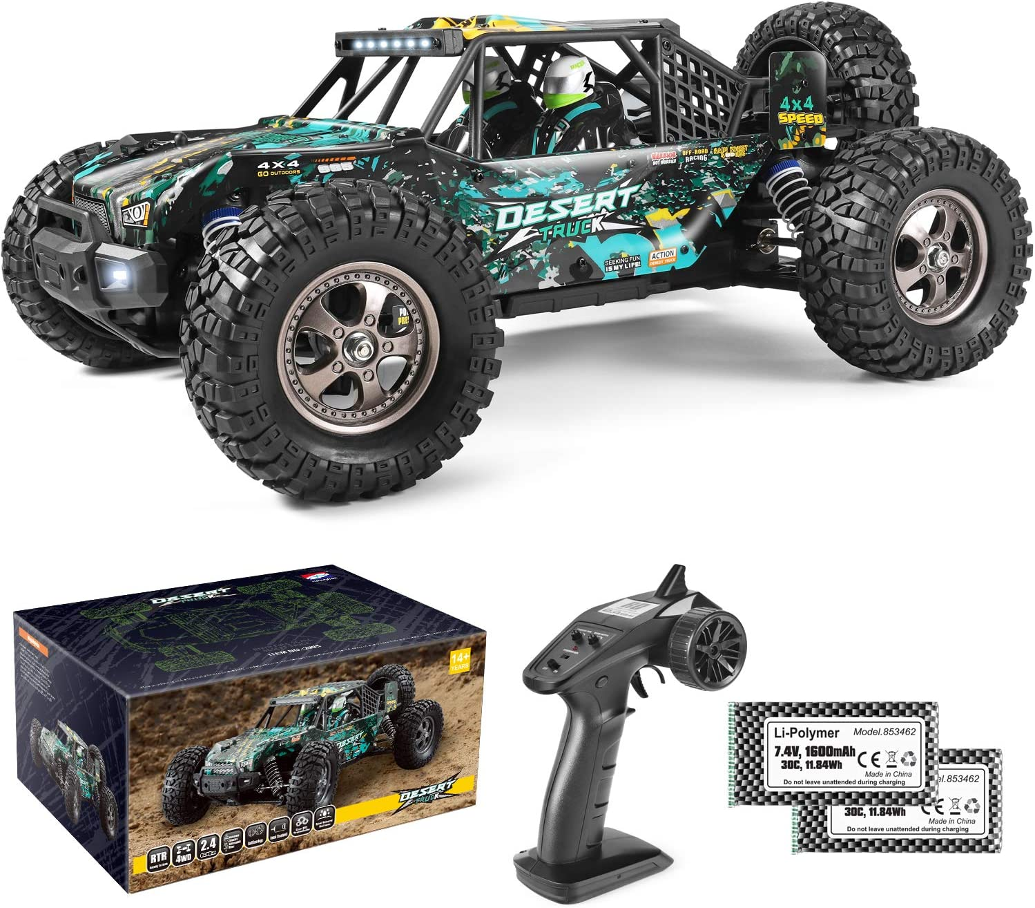 Remote Control Car Kansas City Mall 1:12 Scale High Speed Excellence 42KM 4X4 Off- Cars RC H