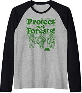 Star Wars Ewoks Protect Our Forests Camp Manche Raglan