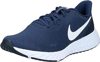 Nike Revolution 5, Men's Road Running Shoes, Blue (Midnight Navy/White-Dark Obsidian), 9 UK (44 EU)