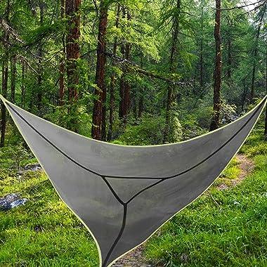 "Giant Aerial Camping Hammock,157"" Revolutionary Multi Person Portable Hammock,Tree House Air Sky Tent,Outdoor Multifuncti"