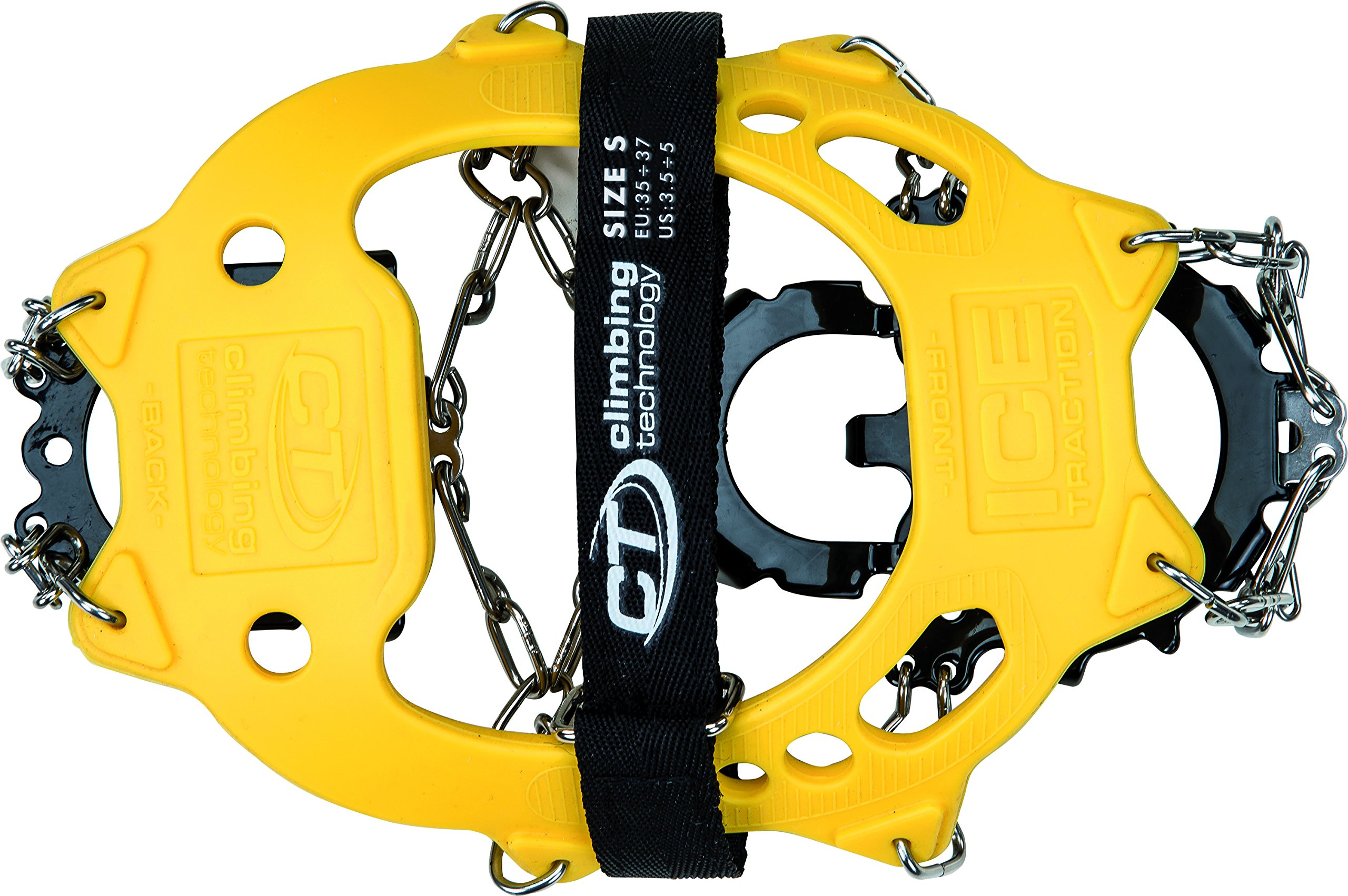 Climbing Technology Ice Traction Crampons Größe S yellow