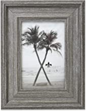 Lawrence Frames Marlow Elegant Picture Frame, 4x6, Gray