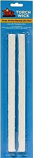 TIKI Brand Torch Replacement Wick 2-per pack Fiberglass (PDQ Tray) - 1312129