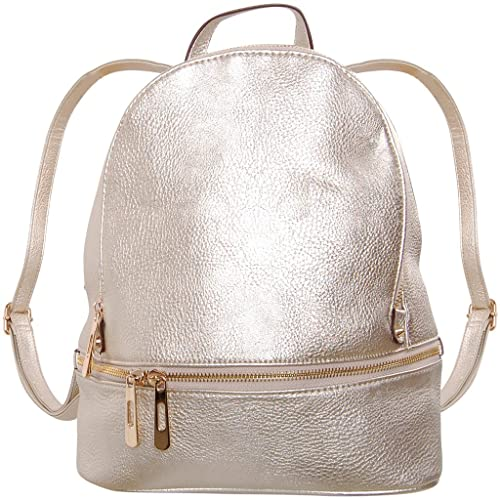 722c93889d3e Humble Chic Vegan Leather Backpack Purse Small Fashion Travel School Bag  Bookbag