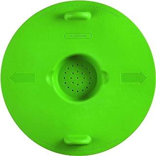 FARBERWARE Pro Pop-N-Steam Veggie And Popcorn Steamer, 10 inch, Green