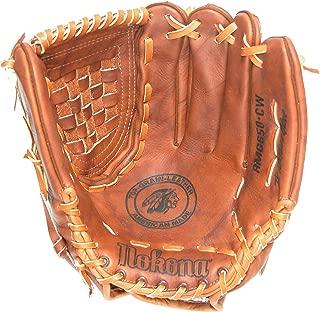 Nokona AMG650 Closed Web Walnut Leather Baseball Glove (13-Inch)