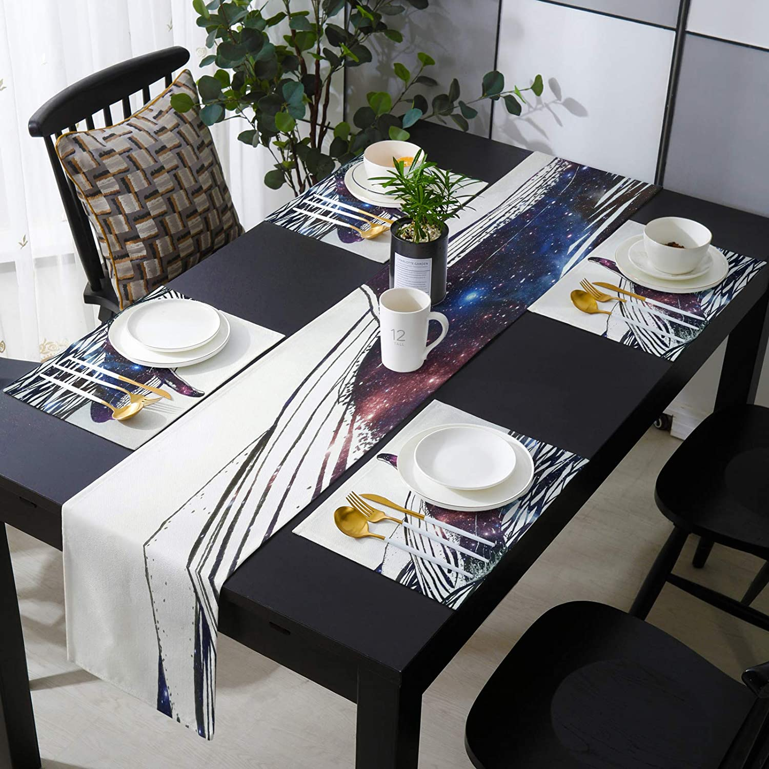KAROLA Table sale Runner and Placemats Set Ranking TOP16 Whale Dining Kitchen 4 of