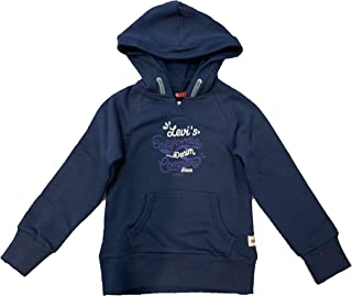 6733a9dba Levi's - Sweat Zelda - Sudadera con Capucha - Azul/Letras Blancas Y MORADAS
