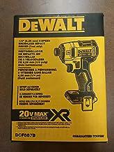 Dewalt DCF887B 20-Volt MAX XR Lithium-Ion Cordless Brushless 3-Speed 1/4 Inch Impact..