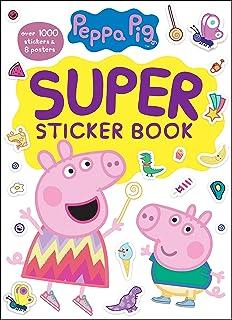 Peppa Pig Super Sticker Book (Peppa Pig)