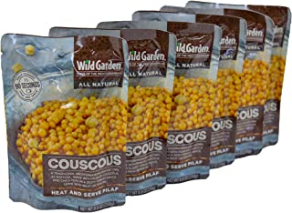 Sponsored Ad - Wild Garden Heat and Serve Pilaf, 100% All-Natural Couscous, Fully Cooked, Ready to Eat, Microwavable 6 pack