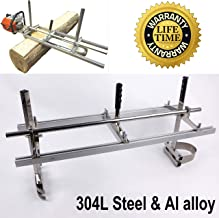 Chainsaw Mill portable chainsaw mill chainsaw sawmill Aluminum 304 Steel Saw Mill Planking Lumber Cutting Milling (14