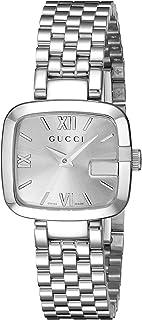Gucci - YA125517 - Reloj de Cuarzo para Mujer, con Correa de Acero Inoxidable, Color Plateado