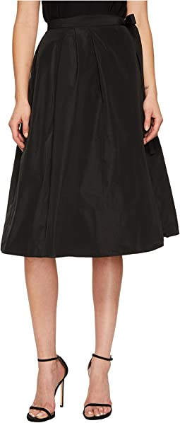 Jil Sander Navy - Pleated Wrap Skirt