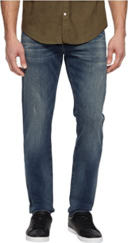 Mavi Jeans - Jake Regular Rise Slim Jeans in Deep Used Williamsburg