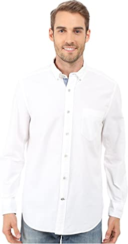 Solid Oxford L/S Woven Shirt