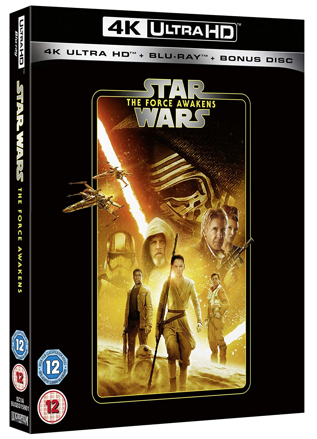 Star Wars Episode VII: outlet The Blu-ray Force Awakens Regio 2020 Topics on TV