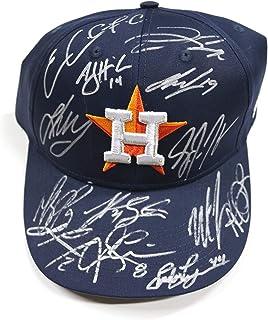 a450a698c Houston Astros 2015 Team Signed Autographed Cap Hat - 14 Autographs -  Correa Springer