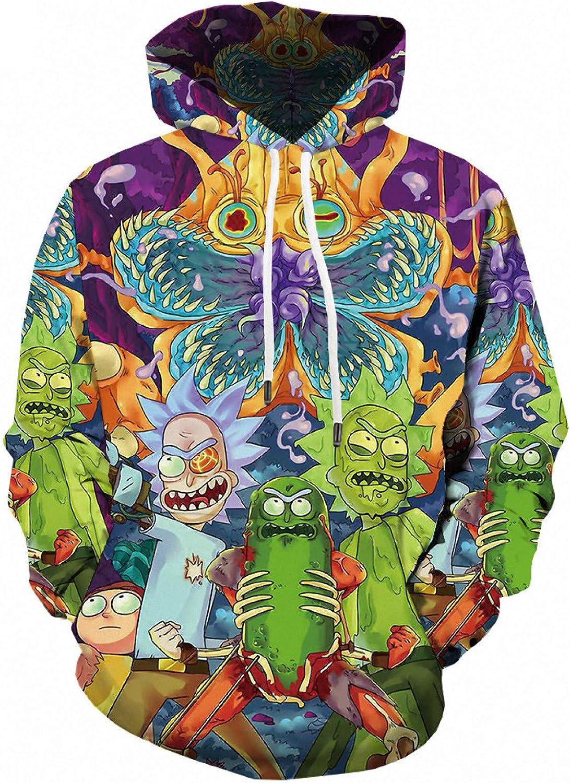 Men's 3D Sweatshirt Cartoon Excellent Anime Digital Ja Hoodie Al sold out. Print Sports