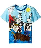 Dolce & Gabbana Kids - Mare Sicily Pirate T-Shirt (Toddler/Little Kids)