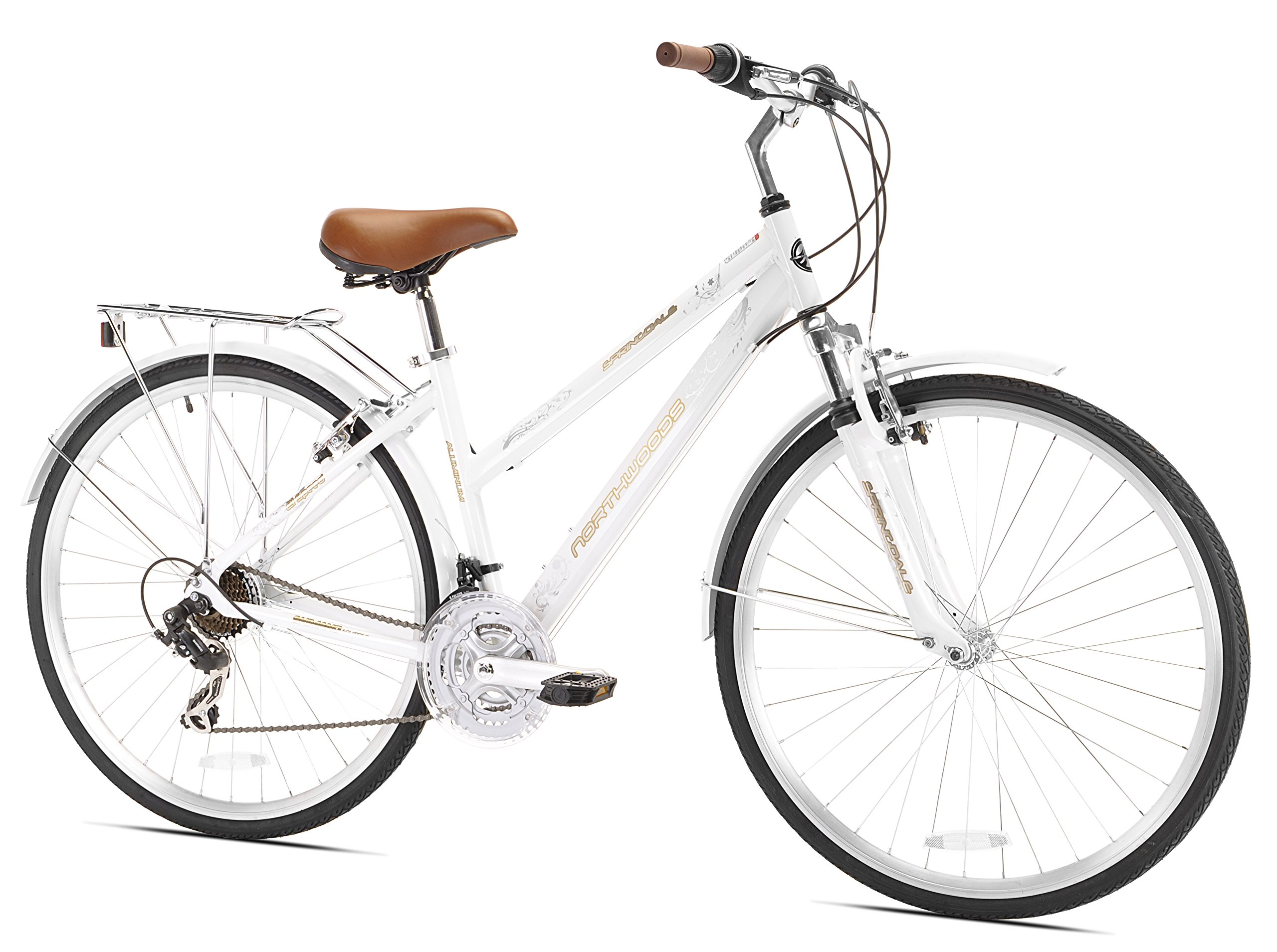 Springdale Womens Hybrid Bicycle White