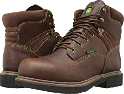 "Waterproof 6"" Lace-Up Steel Toe"
