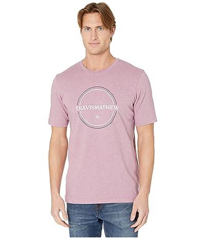 TravisMathew Bandwagon T-Shirt (Heather Bordeaux) Men