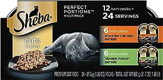 Sheba Perfort PORTIONS در غذای گربه مرطوب Gravy Entrée Wet