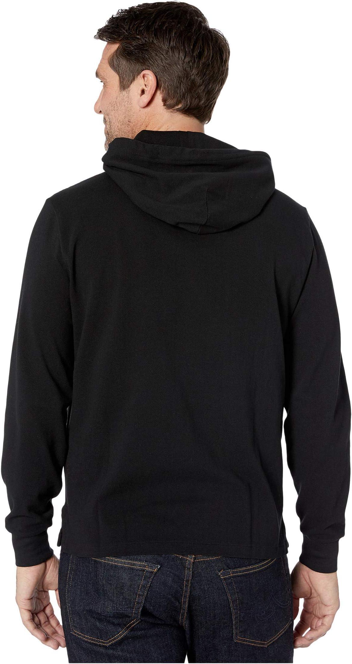 Polo Ralph Lauren Classic Fit Mesh Hooded Shirt ZsD6M