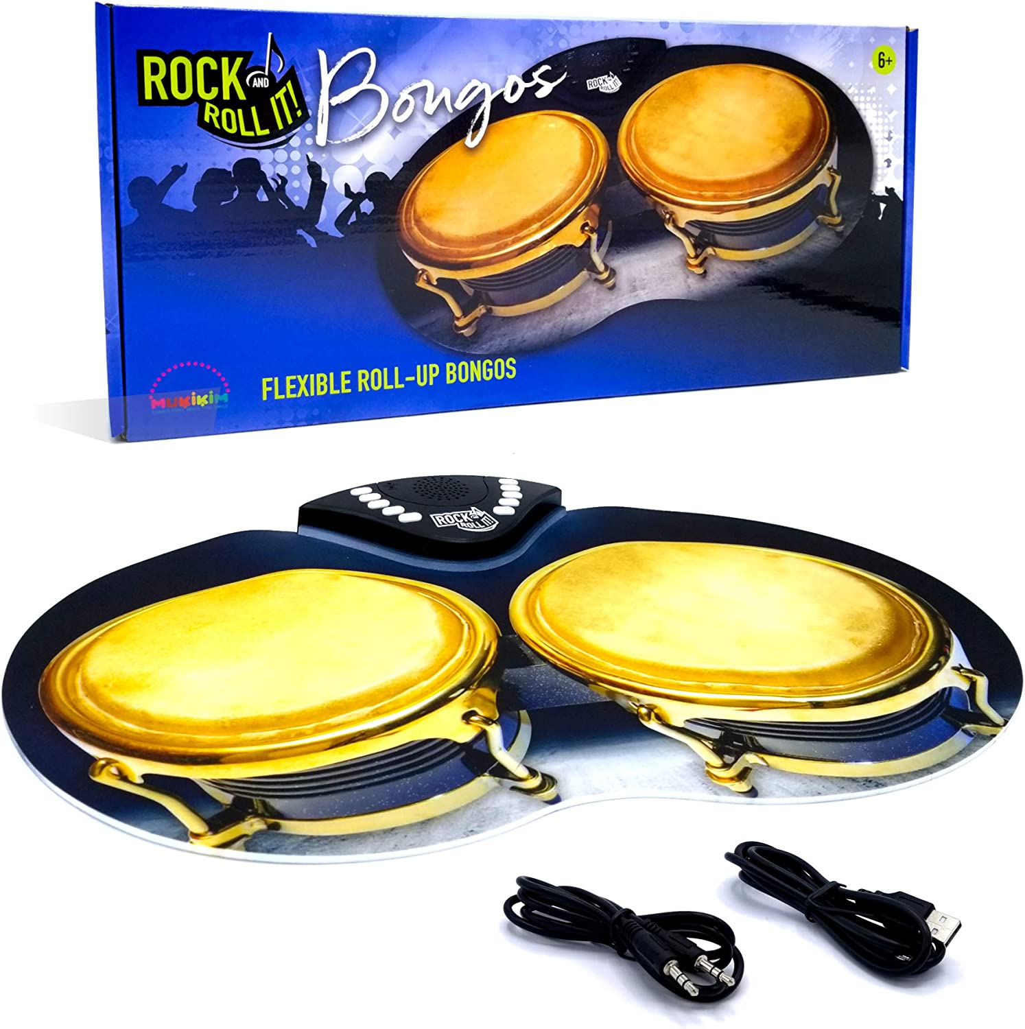 Rock and New mail order Roll It – H Electronic Bongos. Popular brand in the world Portable Flexible