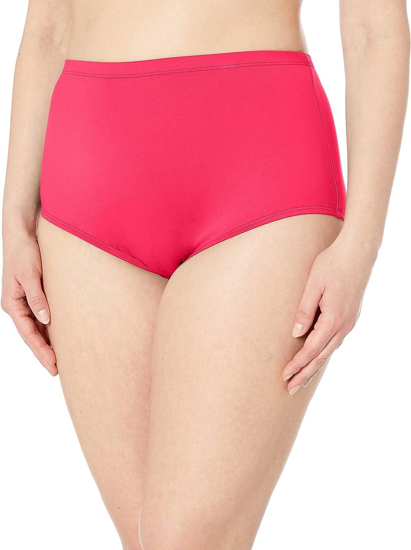 La Blanca Women's Plus-Size Island Goddess High Waist Bikini Swimsuit Bottom