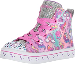 Skechers Kids' TWI-Lites-Princess Party Sneaker