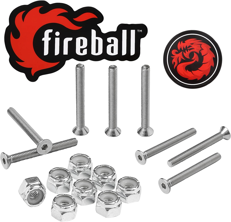 Fireball Dragon Stainless Steel Cheap bargain San Diego Mall Mounting Longboard Ha Skateboard