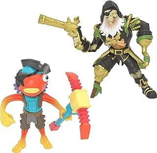 Fortnite Battle Royale Collection: Fishstick & Blackheart - 2 Pack of Action Figures, Multicolor (63577)