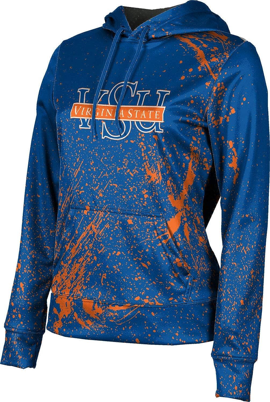 ProSphere Virginia State University Girls' Pullover Hoodie, School Spirit Sweatshirt (Splatter)